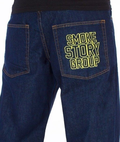 SmokeStory-SMG Regular Jeans Dark Blue
