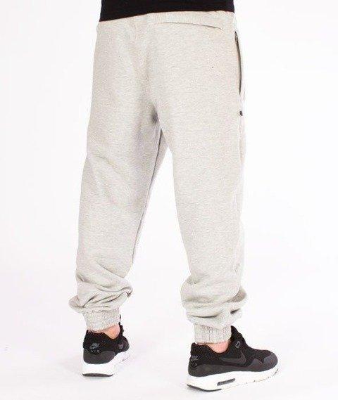 SmokeStory-SSG Classic Jogger Spodnie Dresowe Jasny Melanż