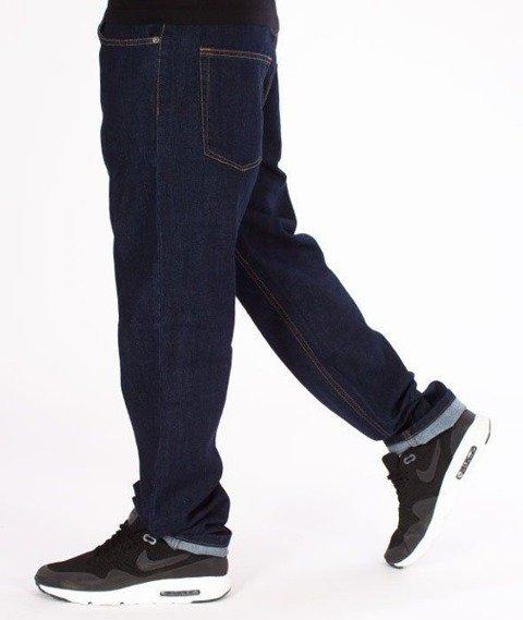 SmokeStory- SSG Classic Slim Jeans Spodnie Dark Blue