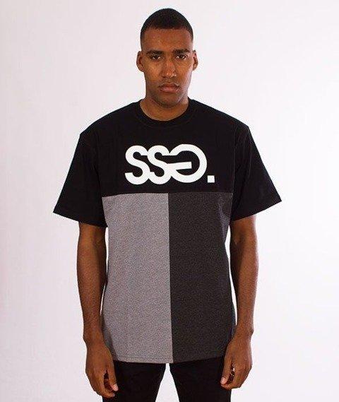 SmokeStory-SSG Cut Bottom T-Shirt Czarny