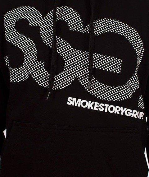 SmokeStory-SSG Dots Bluza Kaptur Czarny