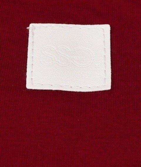 SmokeStory-SSG Dots T-Shirt Bordowy