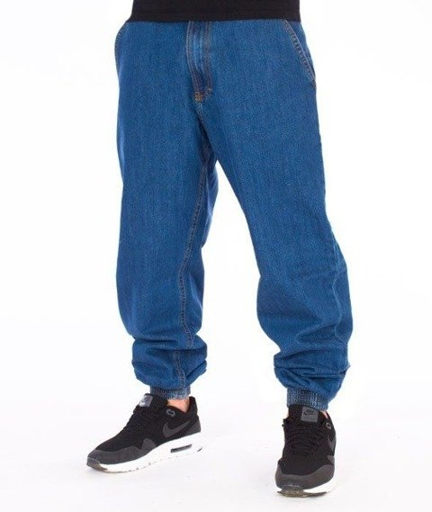 SmokeStory-SSG Tag Jogger Jeans Regular Spodnie Light Blue