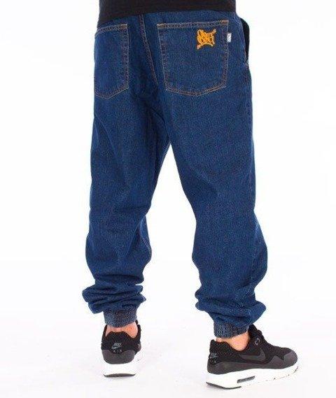 SmokeStory-SSG Tag Jogger Jeans Regular Spodnie Medium Blue