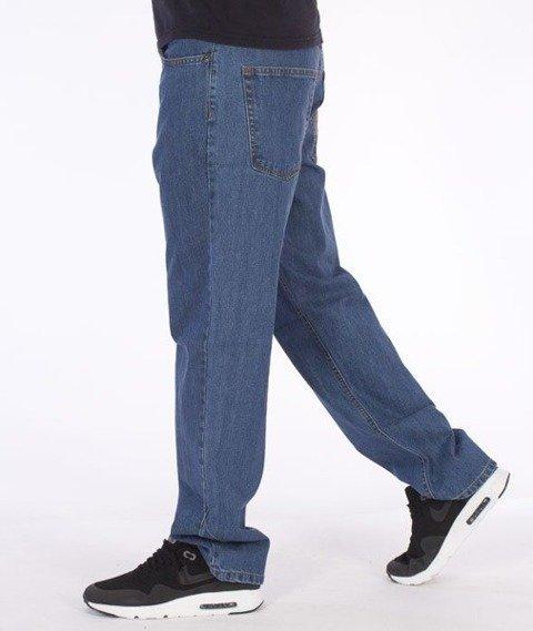 SmokeStory-SSG Tag Regular Jeans Light Blue
