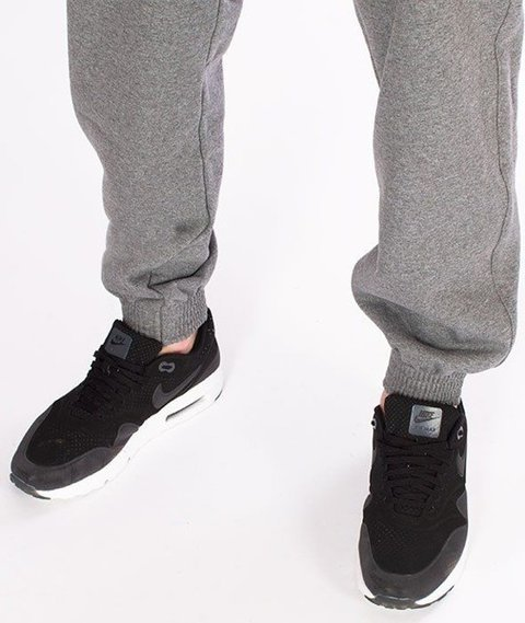 SmokeStory-Skin Jogger Spodnie Dresowe Ciemny Melanż
