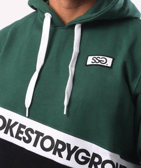 SmokeStory-Slant SMG Kaptur Zielony Czarny