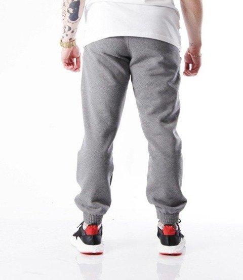 SmokeStory-Small Spodnie Jogger Ciemny Szary