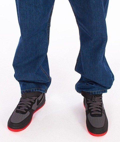 SmokeStory-Smoke Tag Baggy Jeans Medium Blue