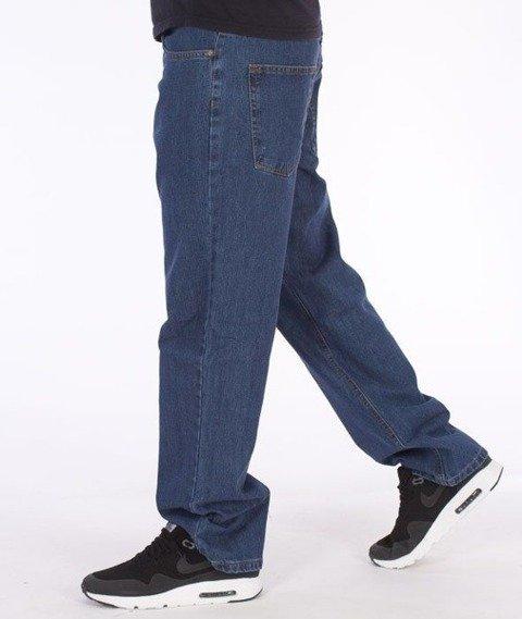 SmokeStory-Smoke Tag Regular Jeans Medium Blue