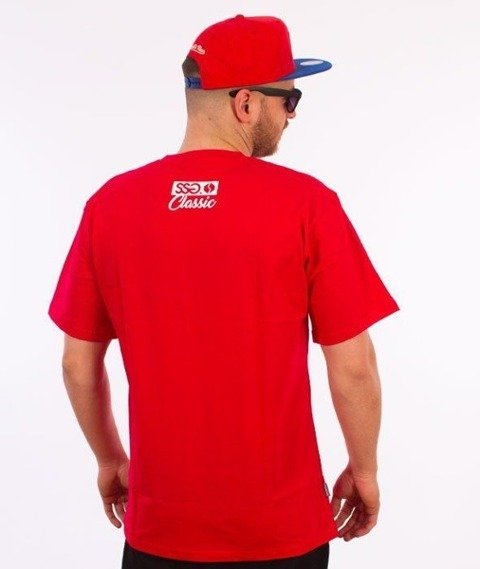 SmokeStory-Street Colors T-Shirt Czerwony