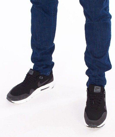 SmokeStory-Stretch Skinny z Gumą Spodnie Medium Blue