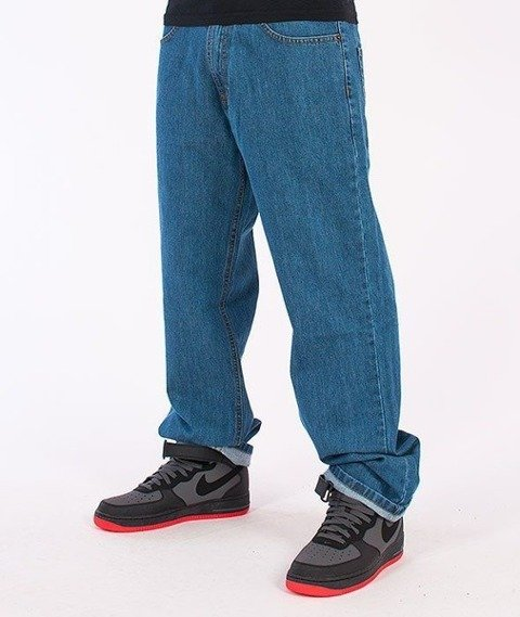 SmokeStory-Tag Regular Jeans Light Blue