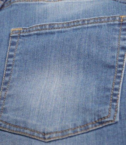 SmokeStory-Wycierane Krótkie Spodnie Light Jeans