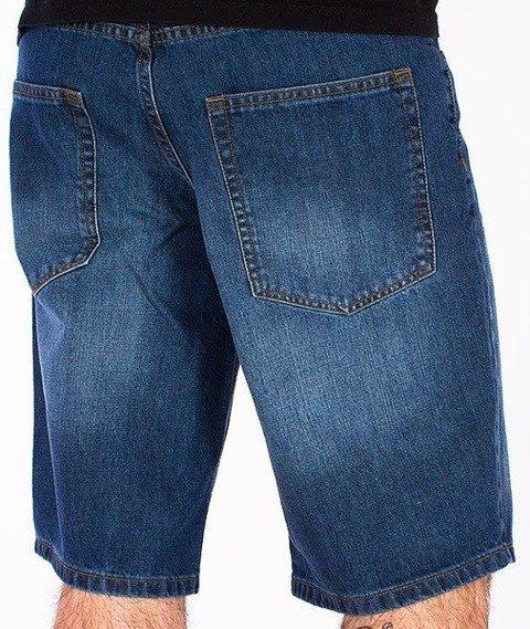 SmokeStory-Wycierane Krótkie Spodnie Medium Blue