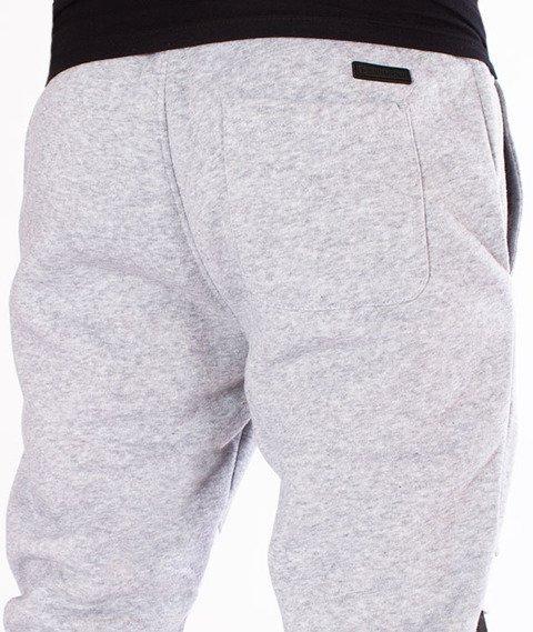 Southpole-Fleece Jogger Anorak Spodnie Dresowe Szare