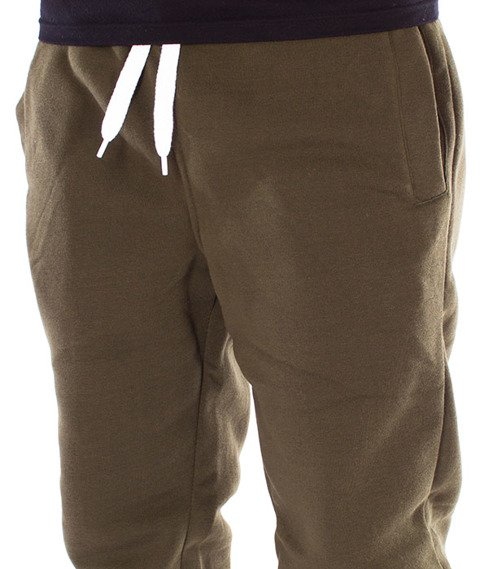 Southpole-Fleece Jogger Spodnie Dresowe Olive