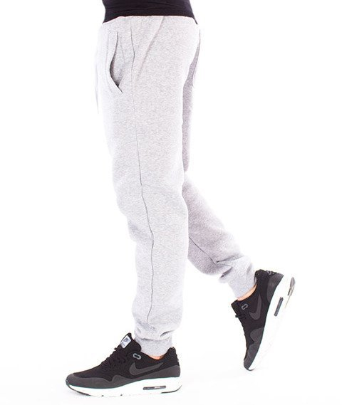 Southpole-Fleece Pant Spodnie Dresowe Heather Grey