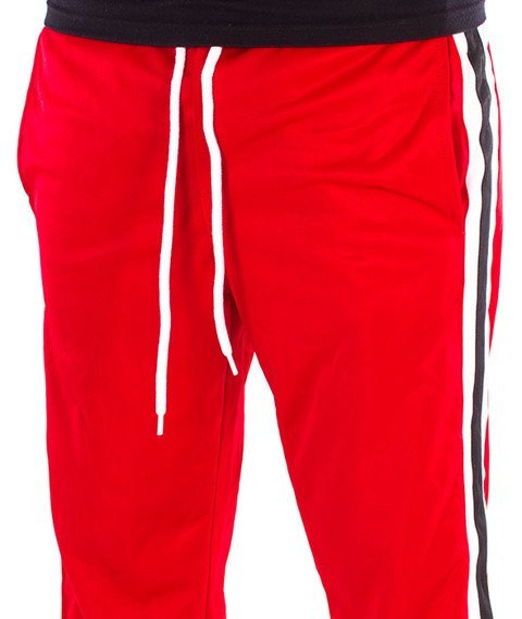 Southpole-Track Pants Side Panel Spodnie Dresowe Red
