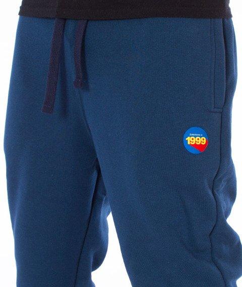 Stoprocent-Athletic Spodnie Dresowe Navy Blue
