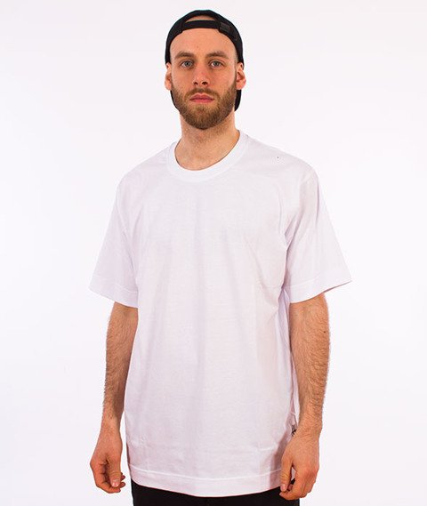 Stoprocent-Baggy Base T-Shirt Biały