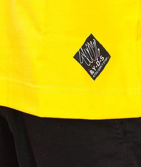 Stoprocent-Claim T-Shirt Żółty