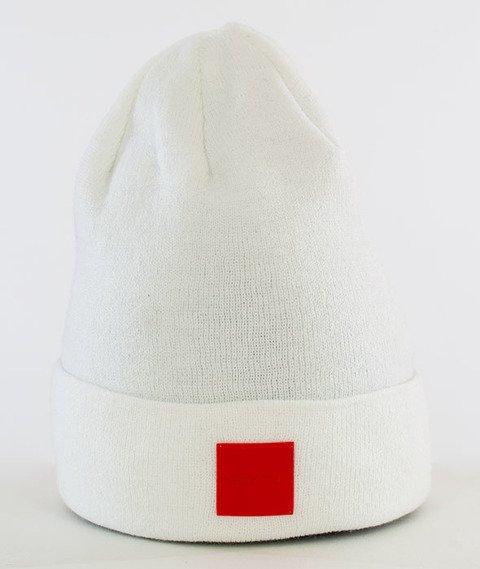 Stoprocent-Cube Czapka Zimowa White