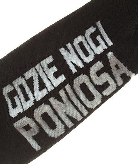 Stoprocent-Nogi Skarpetki Black