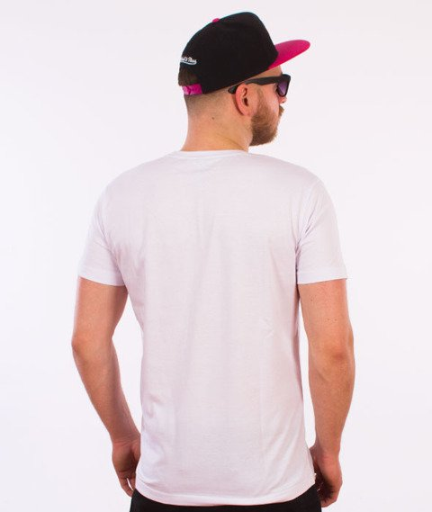 Stoprocent-Not4Kids Slim T-Shirt Biały
