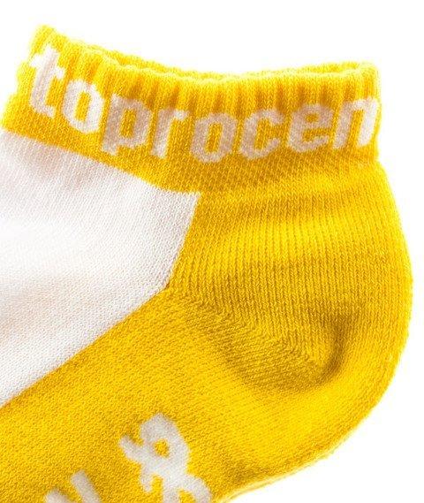 Stoprocent-S N R Skarpetki Yellow