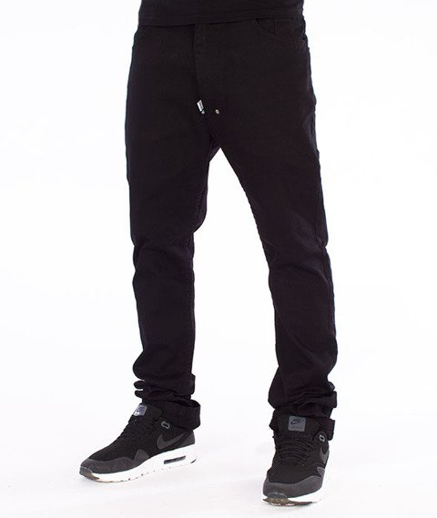 Stoprocent-SJ Slim Low Classic Jeans Black