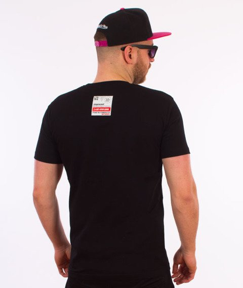 Stoprocent-Sasha T-Shirt Czarny