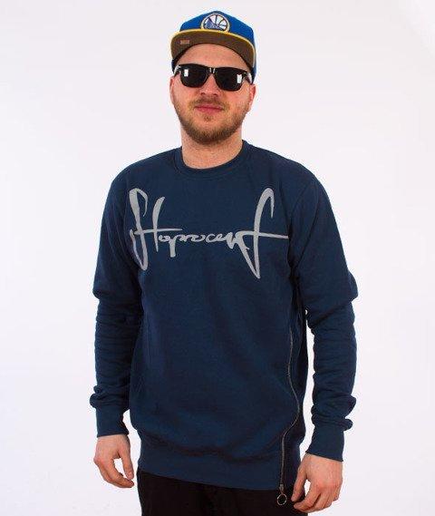 Stoprocent-Sideziptag Bluza Navy Blue