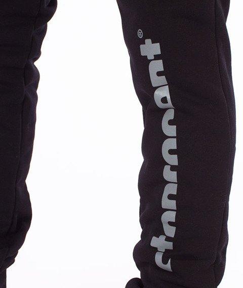 Stoprocent-Slice Spodnie Dresowe Czarne