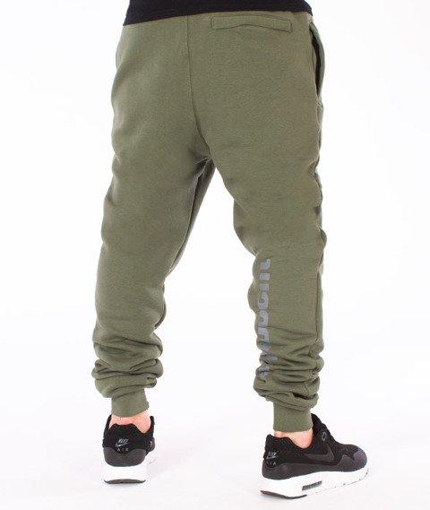 Stoprocent-Slice Spodnie Dresowe Khaki