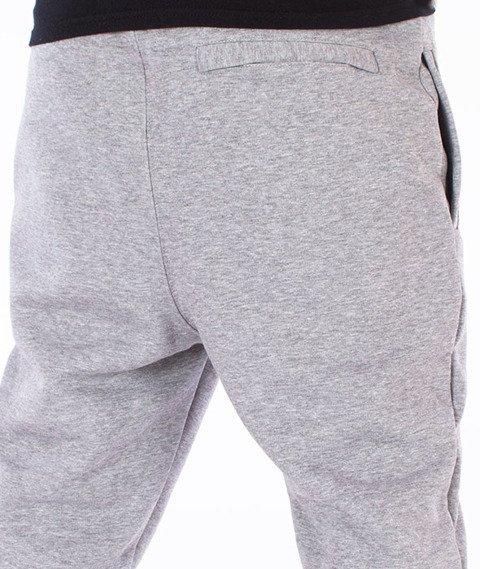 Stoprocent-Slice Spodnie Dresowe Szare