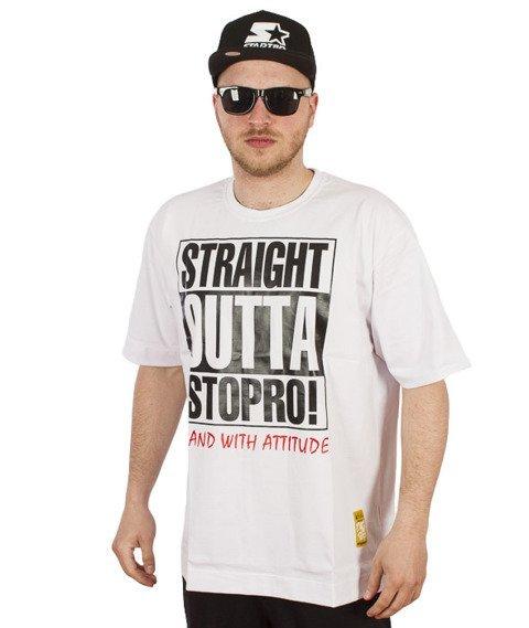 Stoprocent-Straight2 T-Shirt White