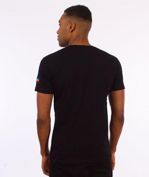 Stoprocent-Stripetag T-Shirt Czarny