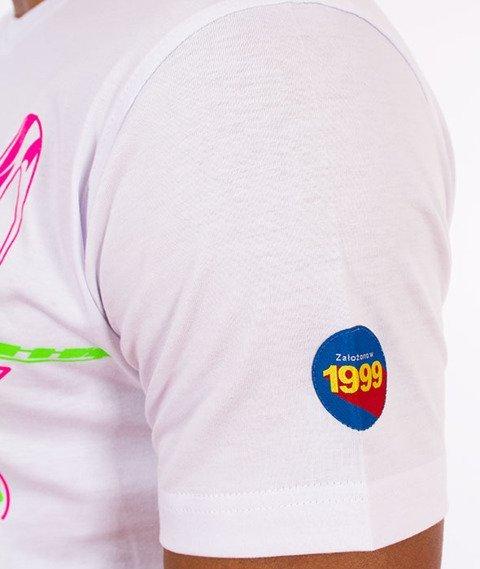 Stoprocent-Surftag T-Shirt Biały