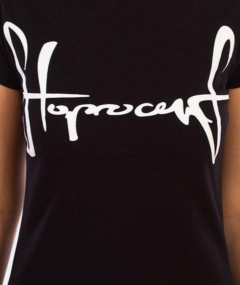 Stoprocent-TDS Tag17 T-Shirt Damski Black