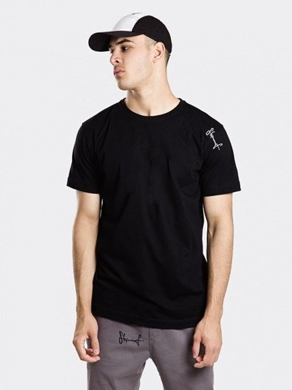 Stoprocent TMS Base Smalltag Slim T-shirt Czarny