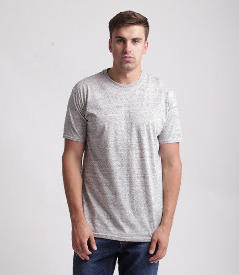 Stoprocent TMS Base Smalltag Slim T-shirt Szary Nopki