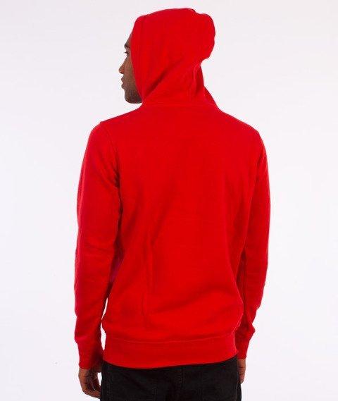 Stoprocent-Tag16 Bluza Z Kapturem Czerwona