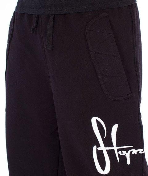 Stoprocent-Tag17 Spodnie Dresowe Czarne