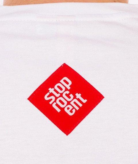 Stoprocent-Tag17 T-shirt Biały