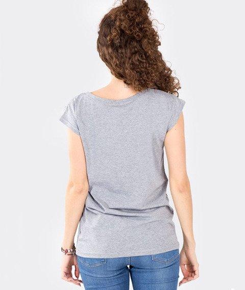 Stoprocent-Tagirl T-Shirt Damski Szary