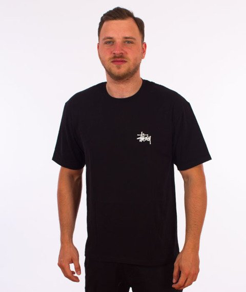 Stussy-Basic Stussy T-Shirt Black