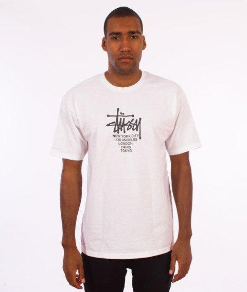 Stussy-Big Cities T-Shirt White
