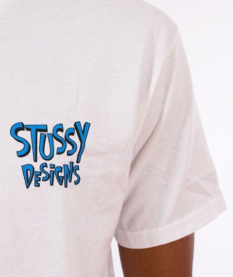 Stussy-Broken World T-Shirt White