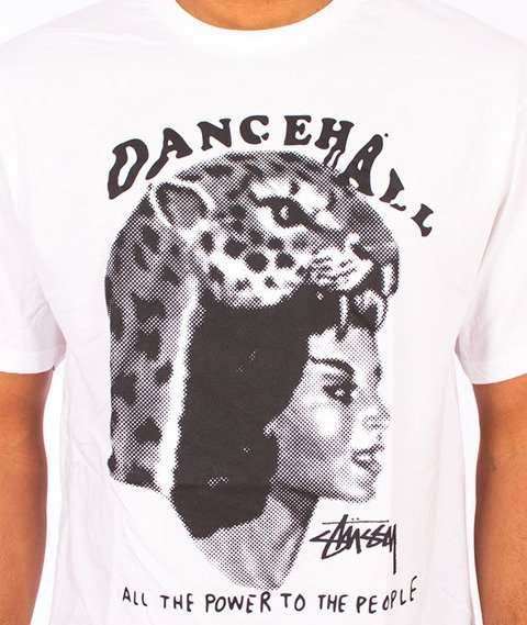 Stussy-Dancehall Tee White